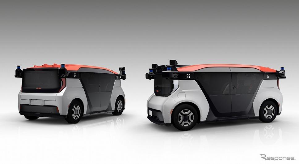 クルーズ・オリジン、GM、クルーズ、ホンダの3社で共同開発している自動運転モビリティサービス事業専用車両《画像提供 本田技研工業》