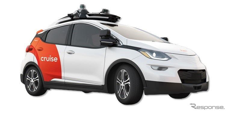 クルーズAV技術実証に用いるGMのボルトをベースとした自動運転車両《画像提供 本田技研工業》
