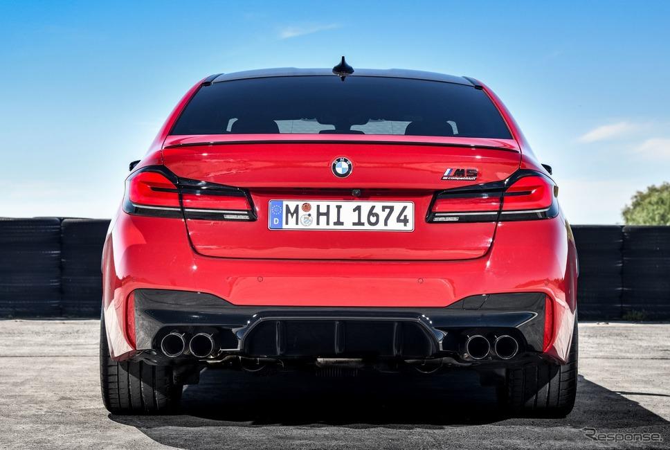 BMW M5 コンペティション 改良新型《photo by BMW》