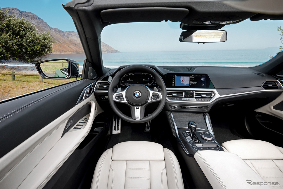 BMW 4シリーズ ・カブリオレ 新型《photo by BMW》