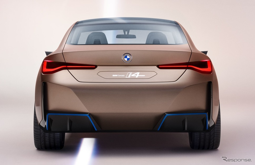 BMW コンセプト i4(参考)《photo by BMW》