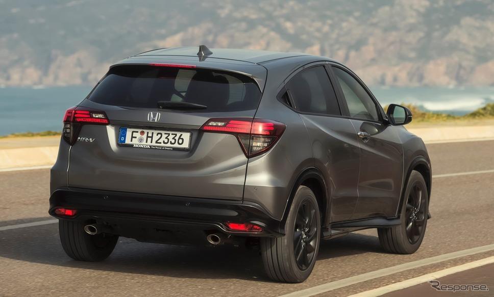 ホンダ HR-V(日本名:ヴェゼルに相当)現行型《photo by Honda》