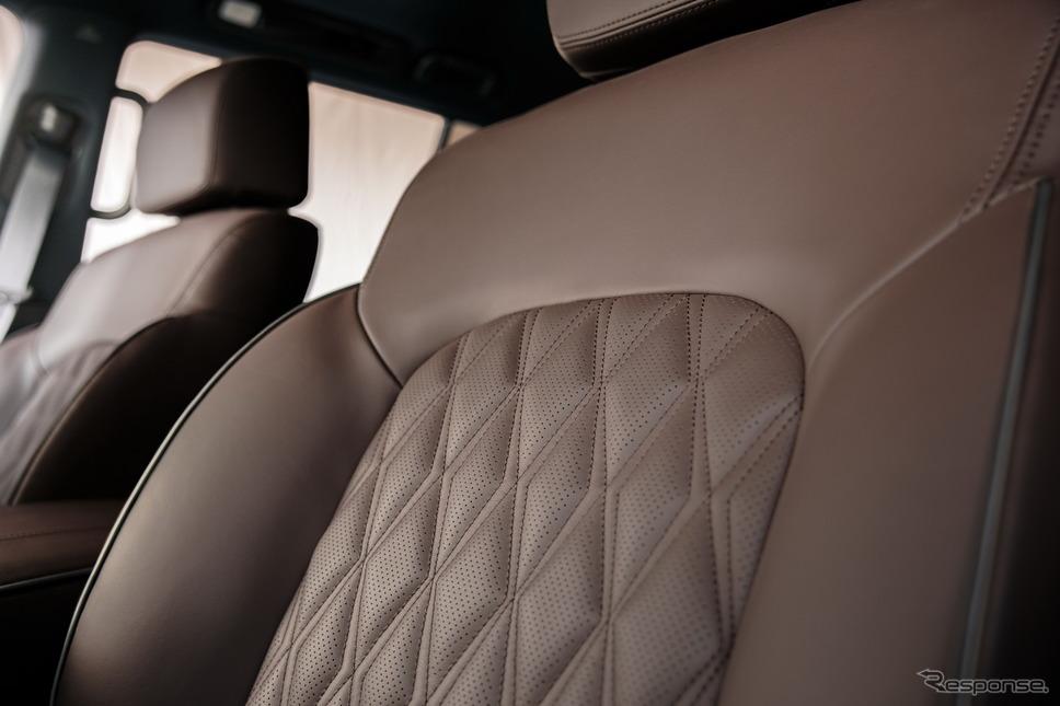 日産 アルマーダ の2021年モデル《photo by Nissan》