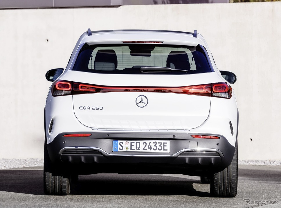 メルセデスベンツ EQA《photo by Mercedes-Benz》