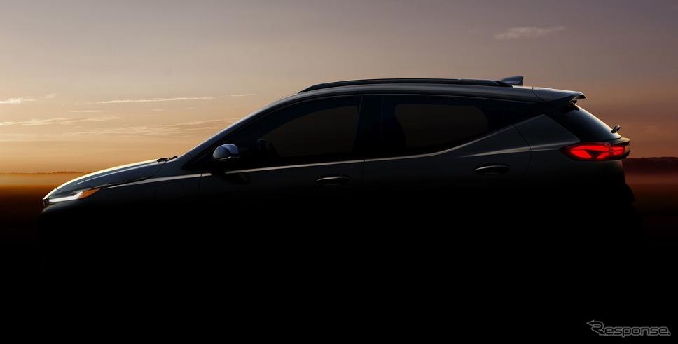 シボレー・ボルト EUV のティザーイメージ《photo by Chevrolet》