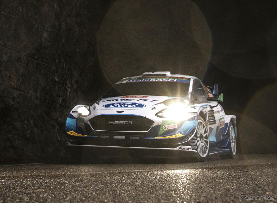 #3 スニネン(Mスポーツ・フォード)は初日、クラッシュを喫することに。《Photo by Red Bull》