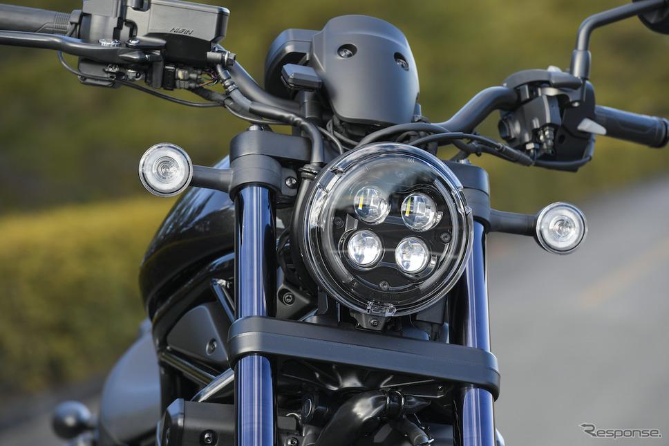 ホンダ レブル1100DCT《写真提供 ホンダモーターサイクルジャパン》