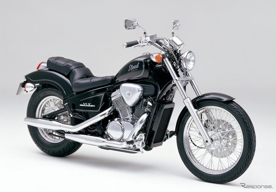 スティード400(1988年)。《写真提供 ホンダモーターサイクルジャパン》
