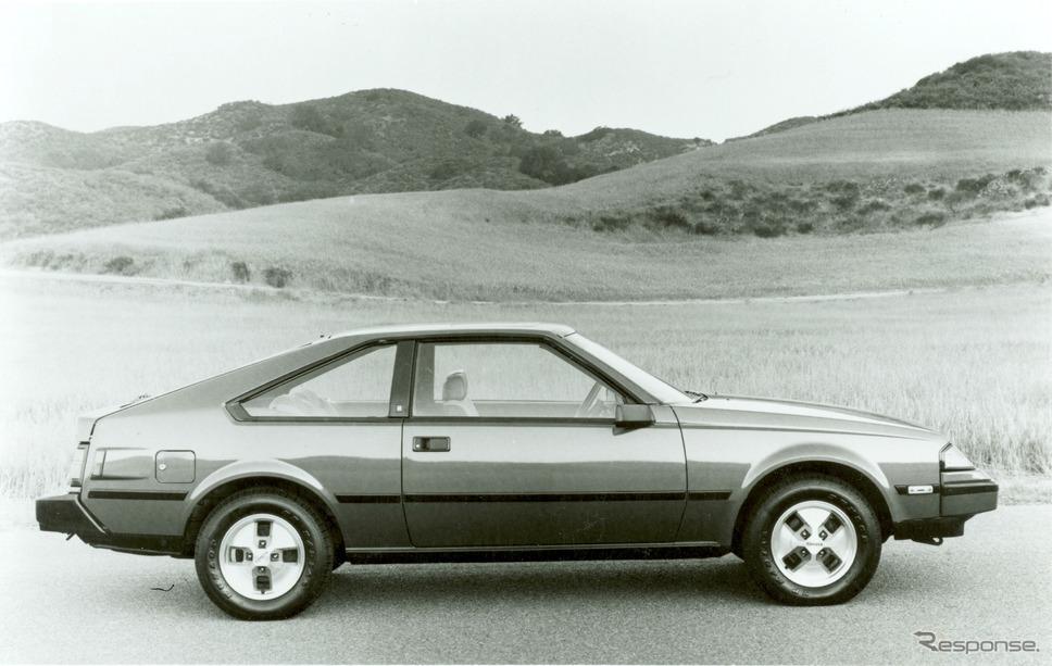 トヨタ・セリカ北米仕様(1982年型)《photo by Toyota》