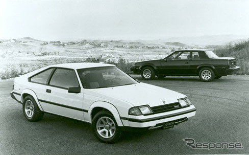 トヨタ・セリカ北米仕様(1983年型)《photo by Toyota》