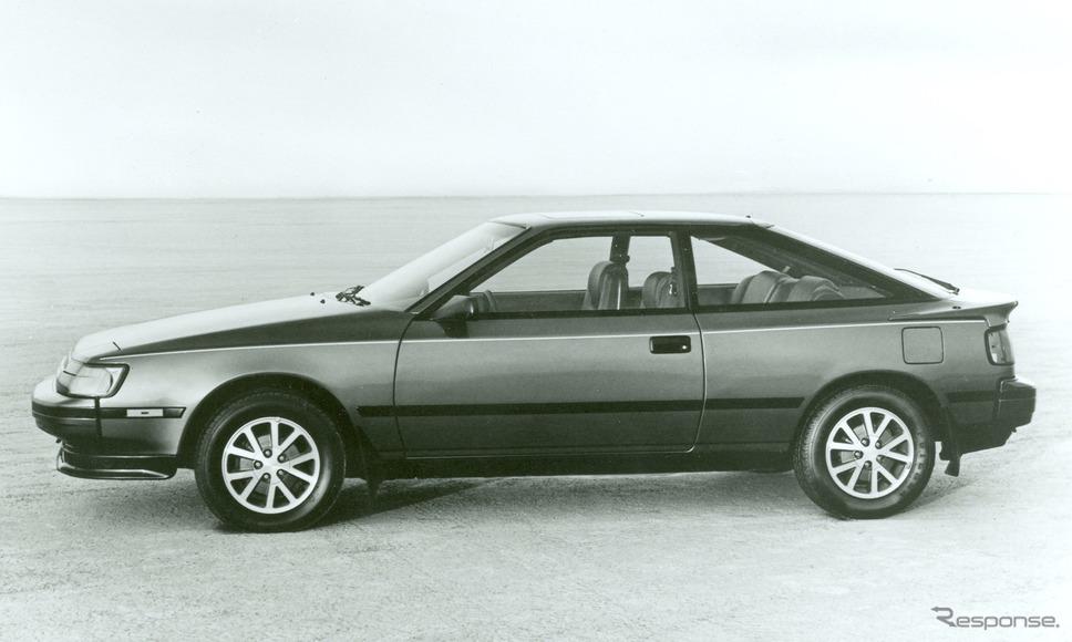 トヨタ・セリカ北米仕様(1986年型)《photo by Toyota》