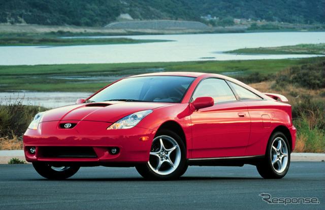 トヨタ・セリカ北米仕様(2000年型)《photo by Toyota》