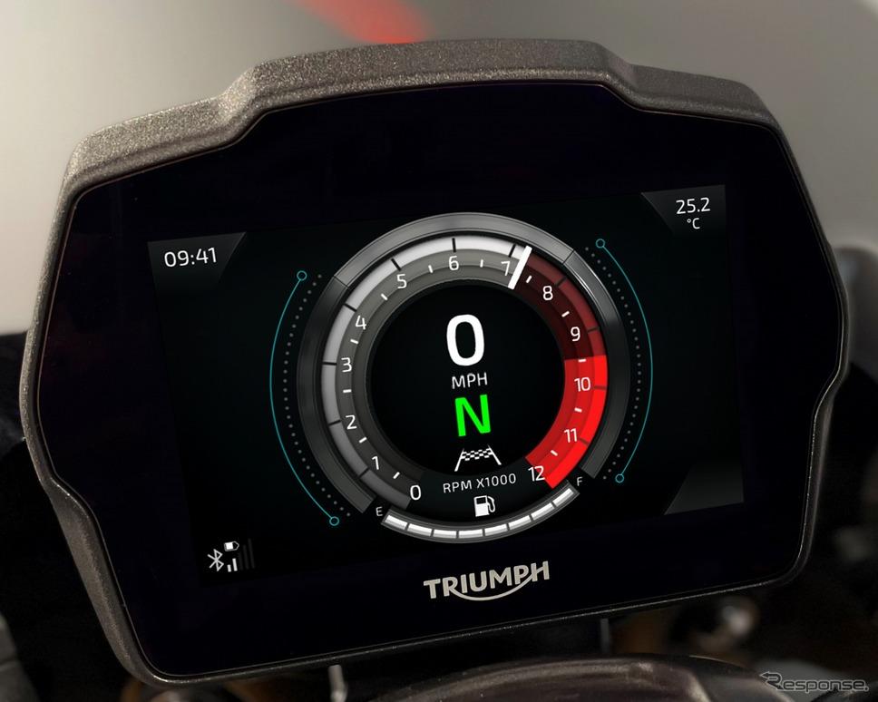 トライアンフ スピードトリプル1200RS《写真提供 トライアンフモーターサイクルズジャパン》