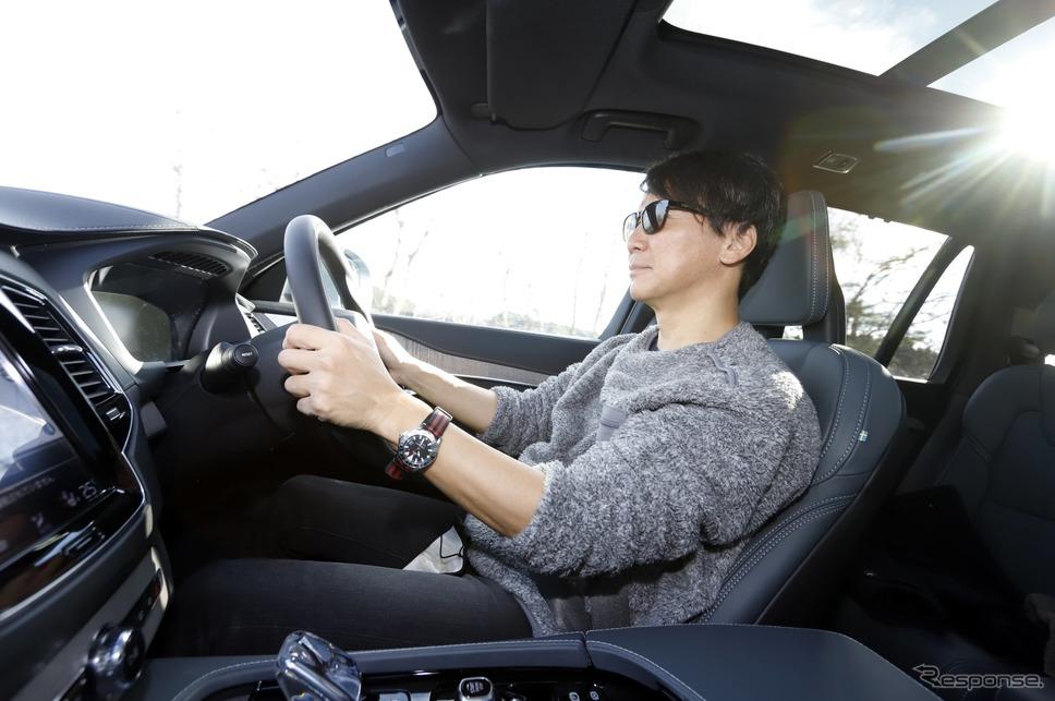 ボルボ XC90 Recharge プラグインハイブリッド T8 AWD に乗る モータージャーナリスト 河西啓介 氏《写真撮影 小林岳夫》