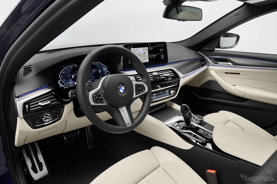 BMW 5シリーズ・セダン のPHV《photo by BMW》