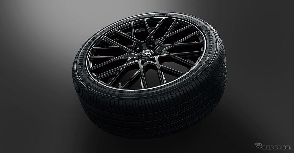 19インチアルミホイール&タイヤセット《画像提供 トヨタカスタマイジング&ディベロップメント》