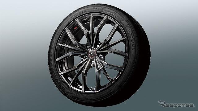 19インチ アルミホイール&タイヤセット(ロックナット付)《画像提供 トヨタカスタマイジング&ディベロップメント》