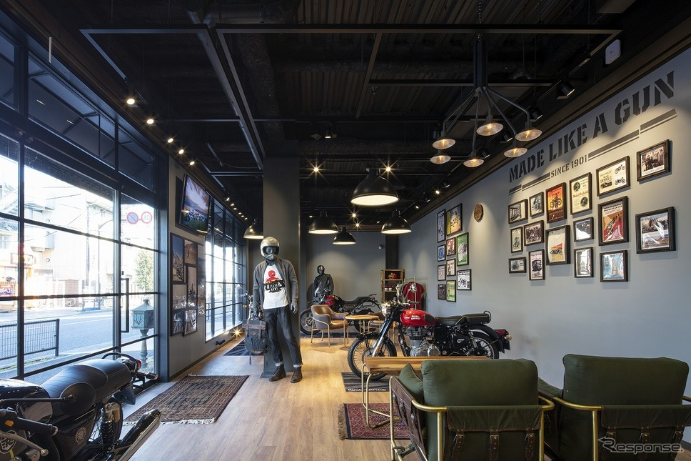 Royal Enfield Tokyo Show Room《画像提供 Eicher Motors Limited》