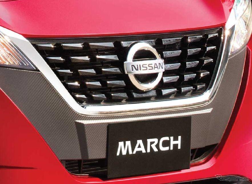 日産 マーチ 改良新型(メキシコ仕様)《photo by Nissan》