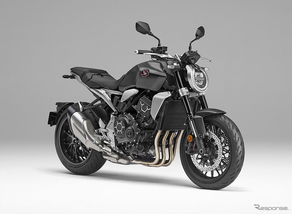 ホンダ CB1000R(マットバリスティックブラックメタリック)《写真提供 本田技研工業》