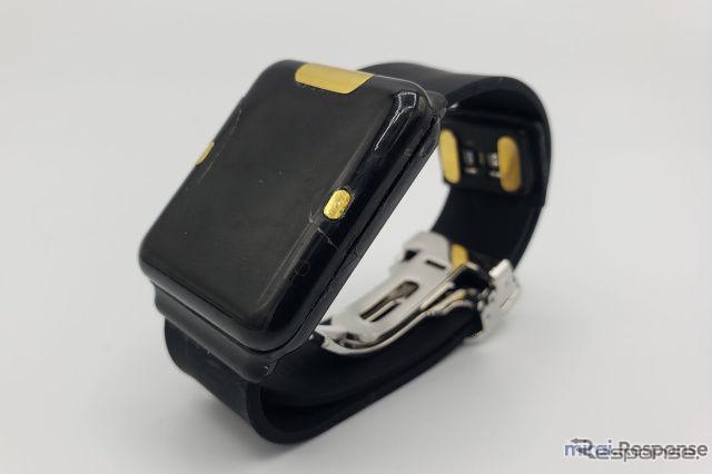 腕時計型ウェアラブルデバイス「BHI260AP」《画像提供 イード》