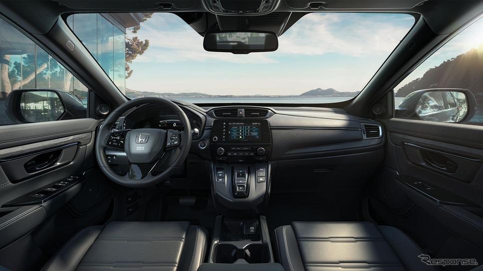 ホンダ CR-V の「e:HEV」(欧州仕様)《photo by Honda》