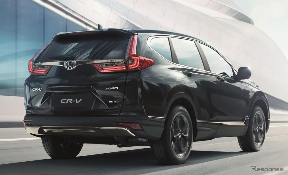 ホンダ CR-V e:HEV の「スポーツライン」(欧州仕様)《photo by Honda》