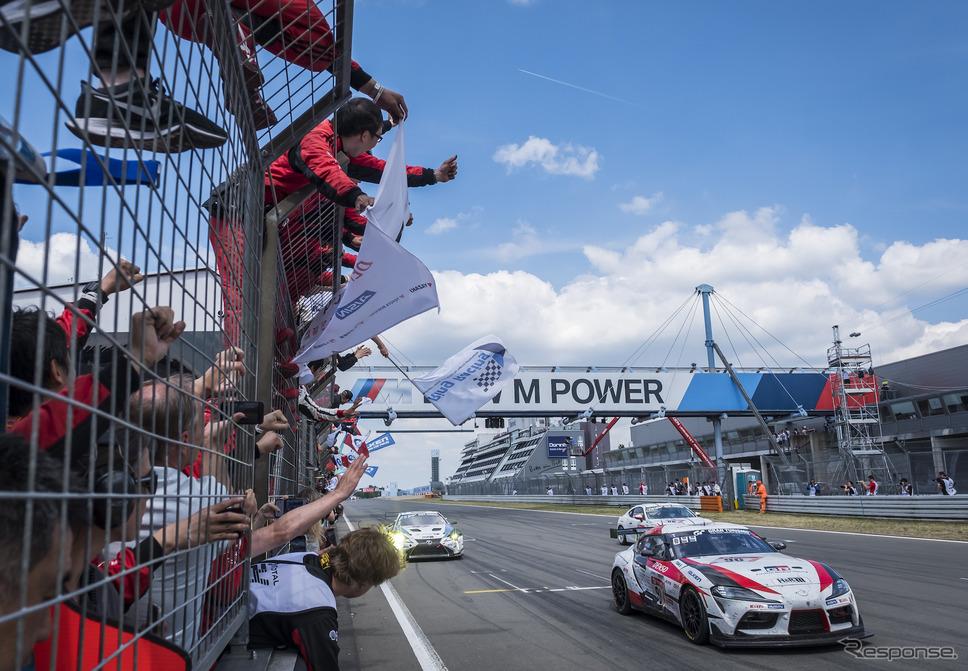 2019年ニュルブルクリンク24時間レース《写真提供 TOYOTA》