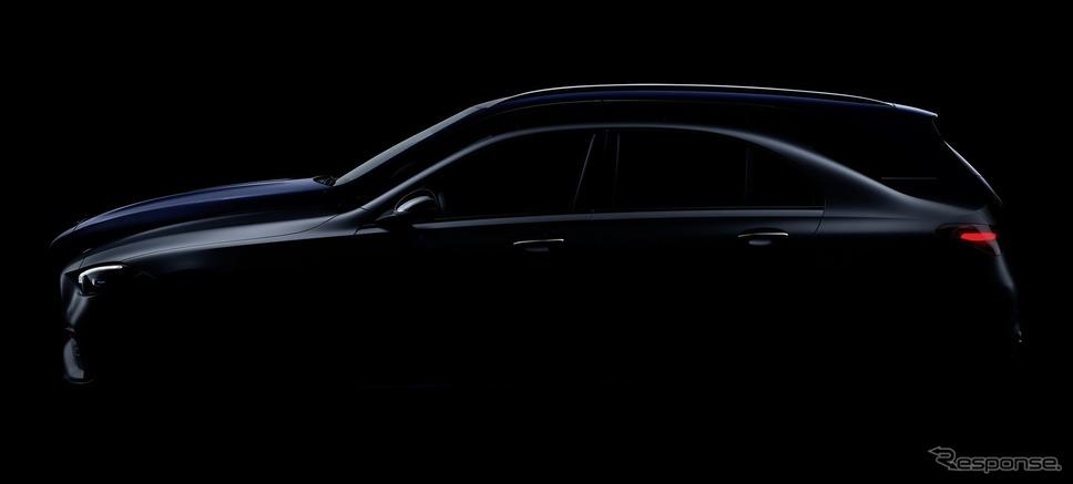 メルセデスベンツ Cクラス 新型のティザーイメージ《photo by Mercedes-Benz》