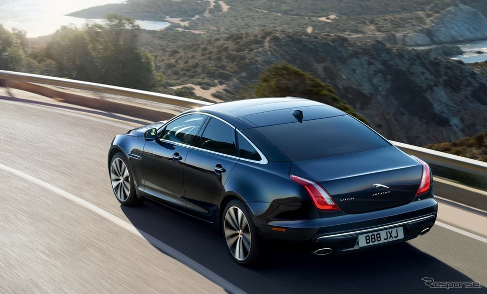現行ジャガー XJ《photo by Jaguar Cars》