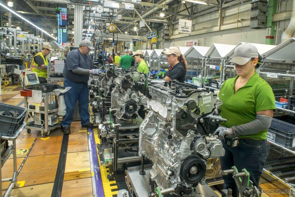 トヨタの米ウェストバージニア工場《photo by Toyota》