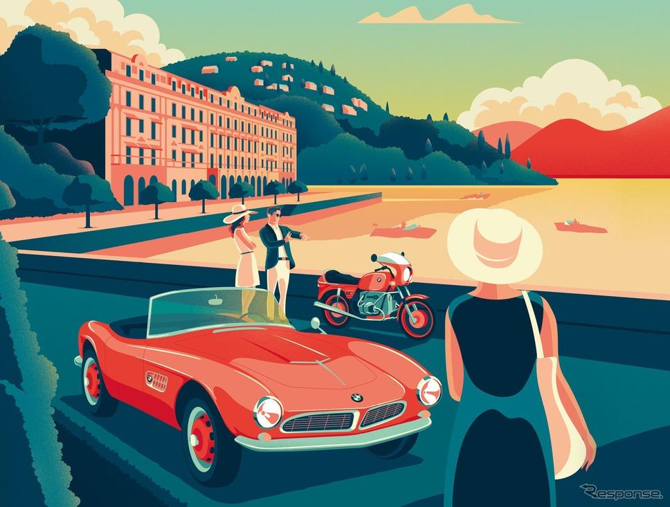 BMWグループがイタリアで共同開催する「コンコルソ・デレガンツァ・ヴィラデステ」《photo by BMW》