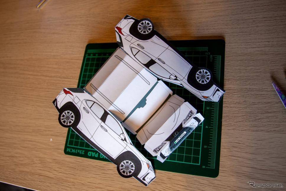 レクサス UX 300e のペーパークラフト《photo by Lexus》