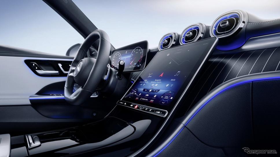メルセデスベンツ Cクラス・エステート (ステーションワゴン)新型《photo by Mercedes-Benz》
