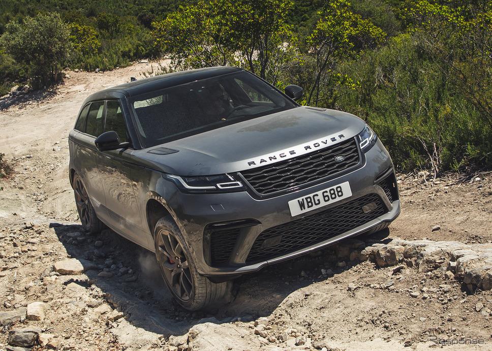 レンジローバー・ヴェラール《photo by Jaguar Land Rover》