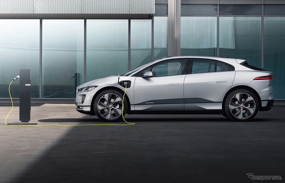 EVとして登場したジャガー I-PACE《photo by Jaguar Land Rover》