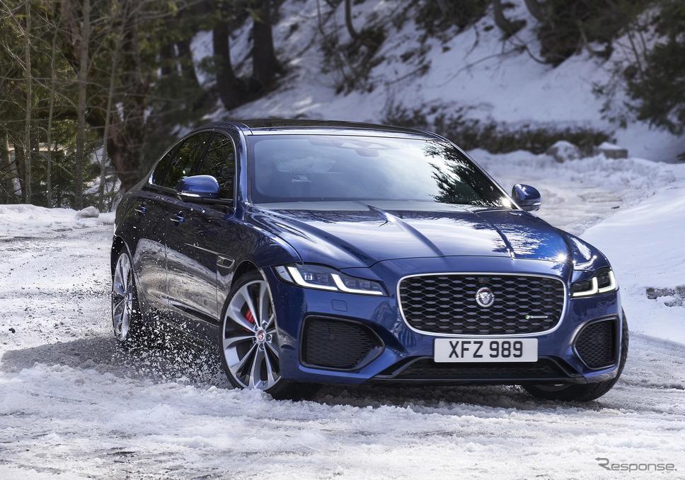 ジャガー XF《photo by Jaguar Land Rover》