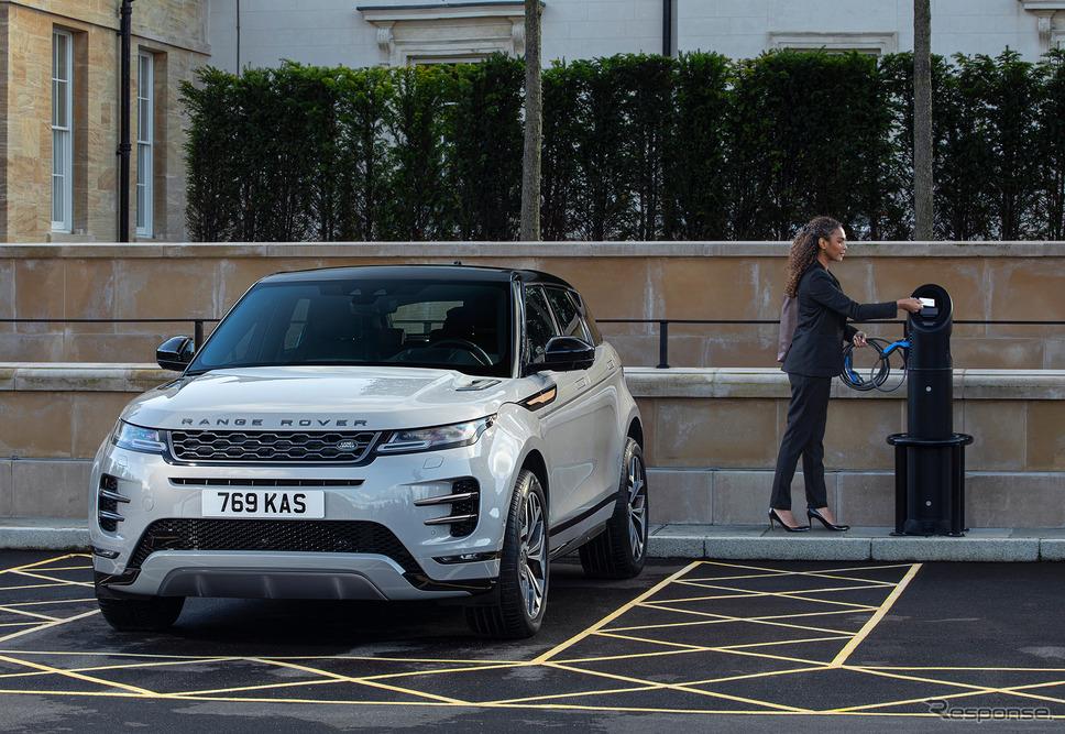 レンジローバー イヴォークのPHEV《photo by Jaguar Land Rover》