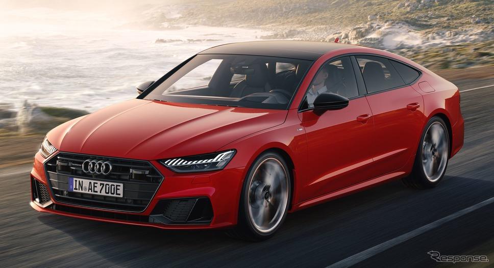 アウディ A7 スポーツバック のPHV「55TFSI e」《photo by Audi》