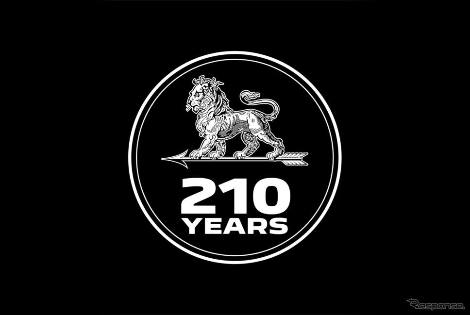 プジョー創立210年《写真提供 プジョーモトシクル》