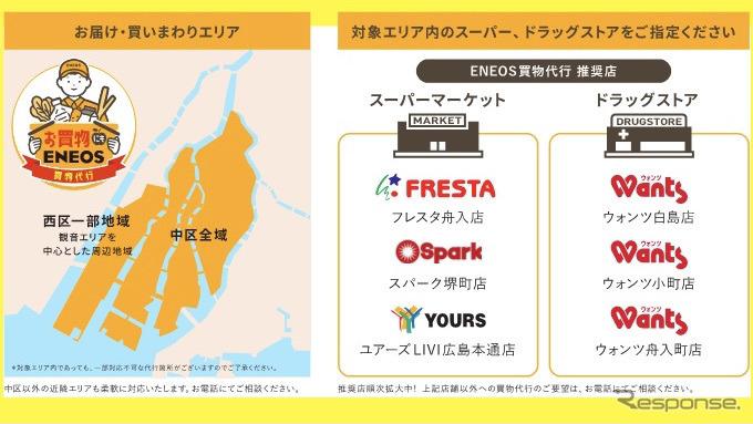 ENEOS 買物代行サービス《図版提供 ENEOS》
