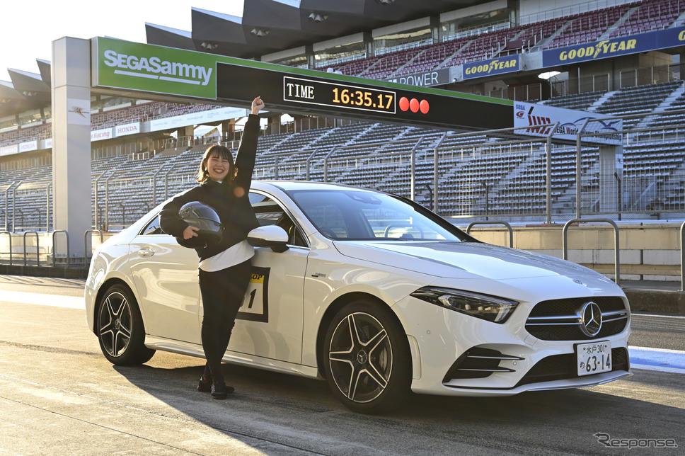 「2L turbo 4WDレッスン」で新米女性編集者が初めてサーキット走行に挑戦!《写真撮影 雪岡直樹》