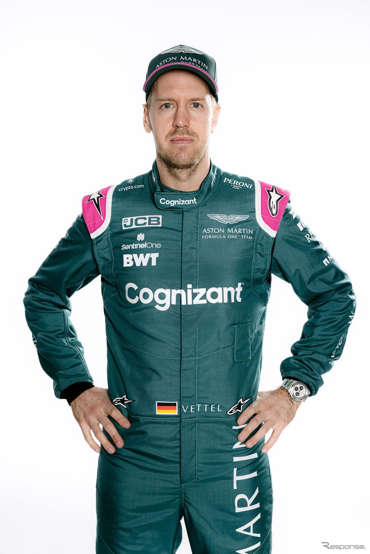 セバスチャン・ベッテル《Photo by Aston Martin Cognizant F1 Team》