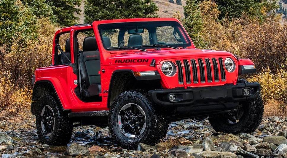ジープ・ラングラー(米国仕様)《photo by Jeep》