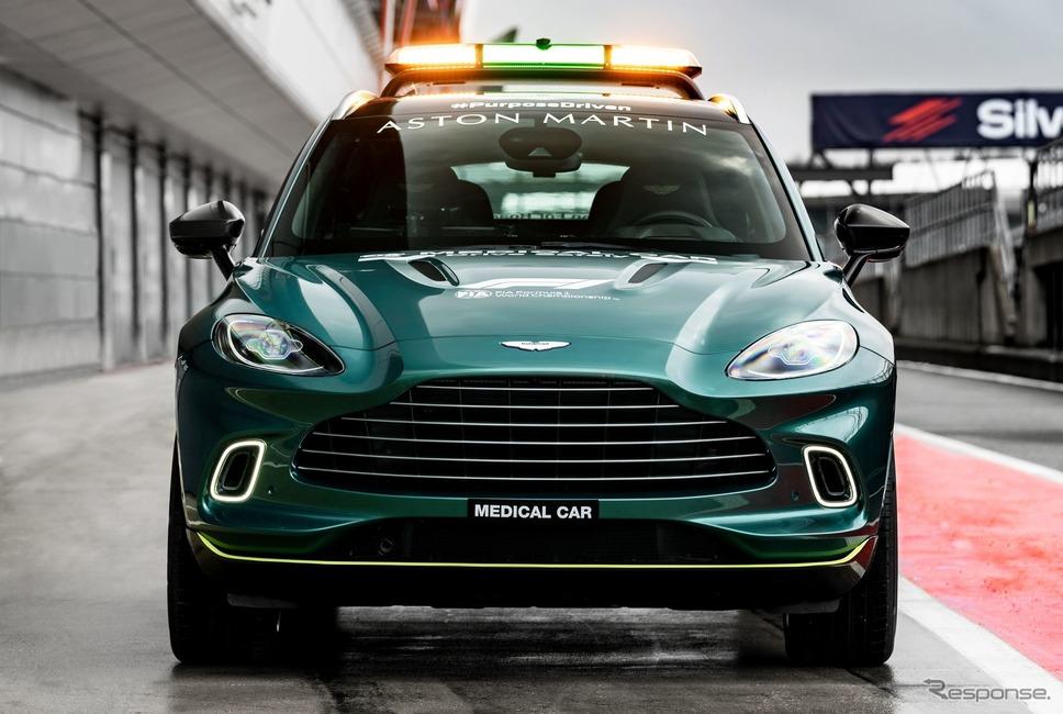 アストンマーティン DBX のF1メディカルカー《photo by Aston Martin》