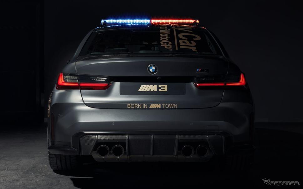 BMW M3 セダン 新型のMotoGPセーフティカー《photo by BMW》