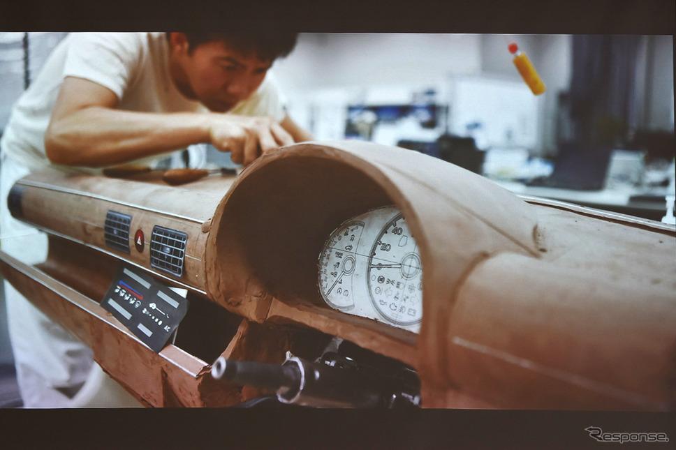 当時22歳の椋本氏が社内コンペで応募した車がS660の原型《写真撮影 中野英幸》