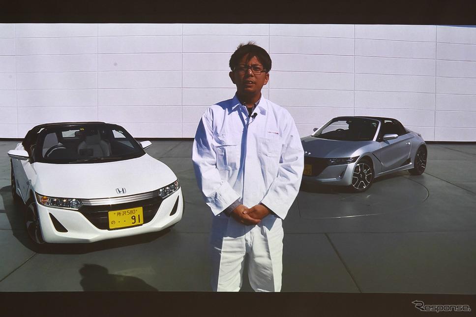 S660の生みの親、本田技術研究所・椋本陵氏《写真撮影 中野英幸》
