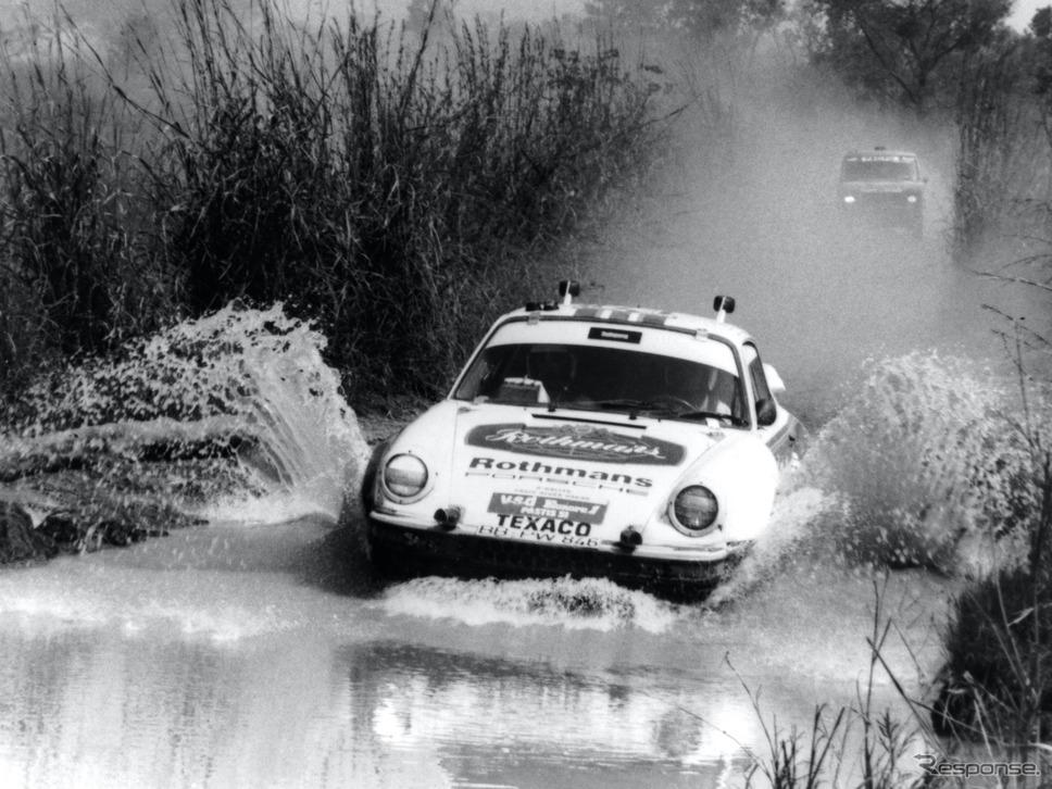 ロスマンズ・ポルシェ(1984年)《photo by Porsche》