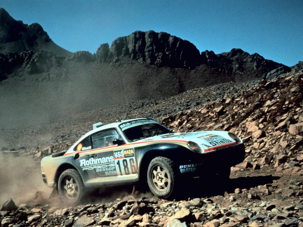 ロスマンズ・ポルシェ(1986年)《photo by Porsche》